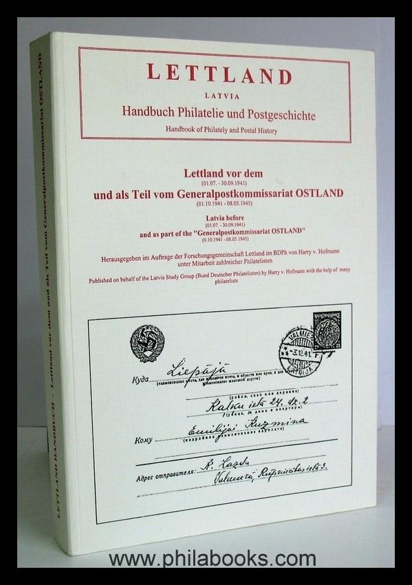 Buchtitel_Hofmann_Lettland_Ostland