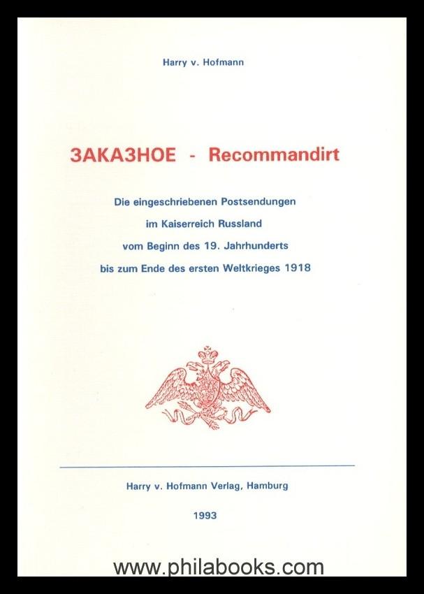 Buchtitel_Hofmann_Russland_Rekomandirt