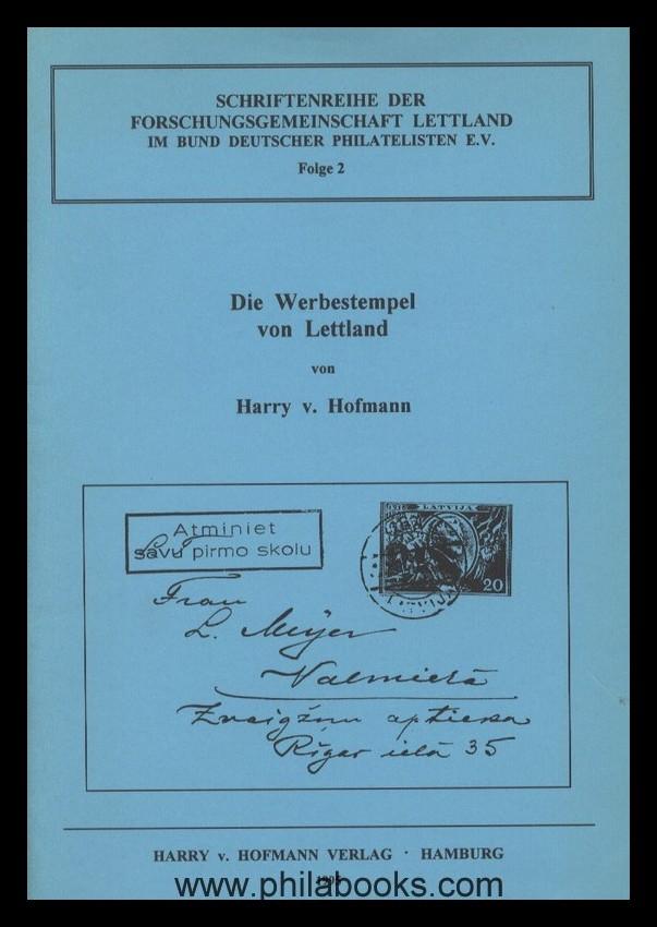Buchtitel_Hofmann_Lettland_Werbestempel