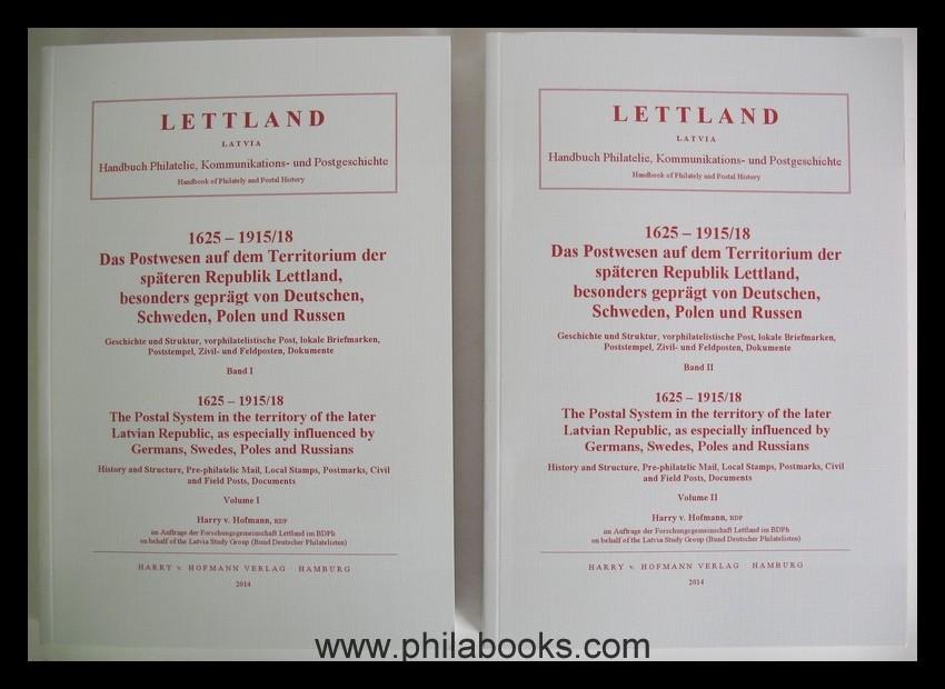 Buchtitel_Hofmann_Lettland_Postwesen