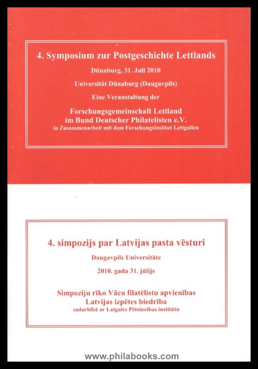 Buchtitel 4. Symposium Lettland