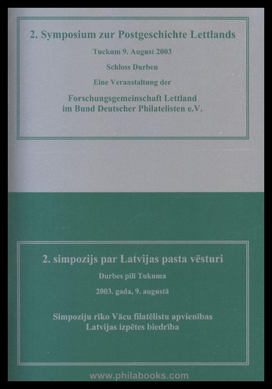 Buchtitel 2. Symposium Lettland